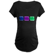 Color Row Pekingese T-Shirt