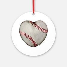 Softball Love Ornament (Round)