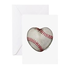 Softball Love Greeting Cards (Pk of 20)