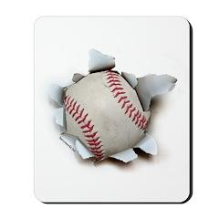 Softball Burster Mousepad