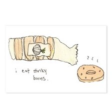 I Eat Stinky Buns Postcards (Package of 8)