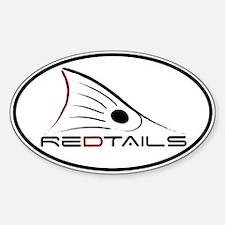 Redtails Sticker (Oval 10 pk)