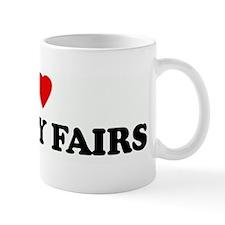 I Love COUNTY FAIRS Mug