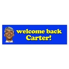 Welcome Back Carter! Bumper Bumper Sticker