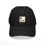 Black Whiteside Roller Pigeon Black Cap