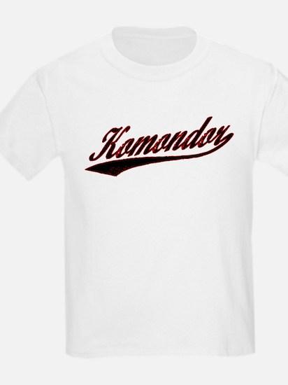 Komondor Varsity Kids T-Shirt