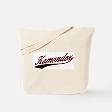 Komondor Varsity Tote Bag