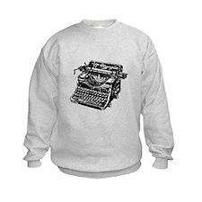 VINTAGE TYPEWRITER Sweatshirt