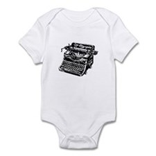 VINTAGE TYPEWRITER Infant Bodysuit