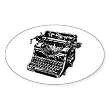VINTAGE TYPEWRITER Decal