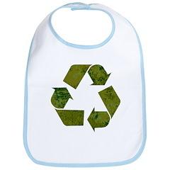 Grunge Recycle Bib