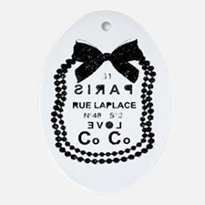 LOVE COCO Ornament (Oval)