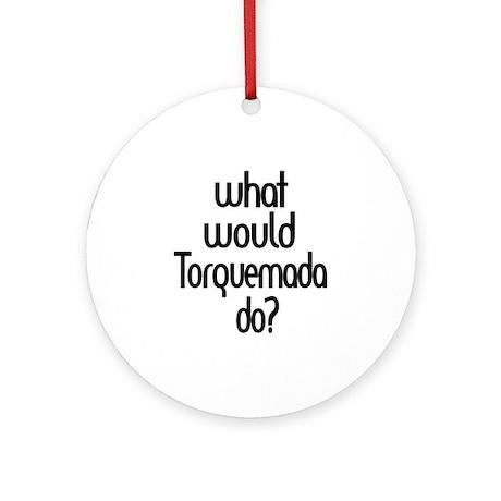 Torquemada Ornament (Round)