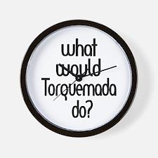 Torquemada Wall Clock