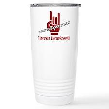 Take Back The Horns Travel Mug