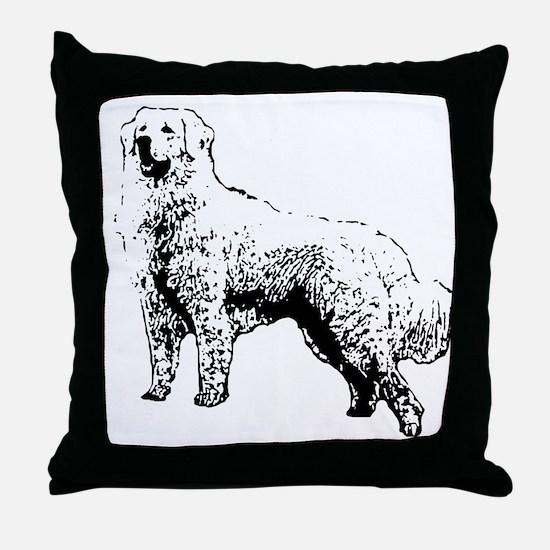 Kuvasz Throw Pillow