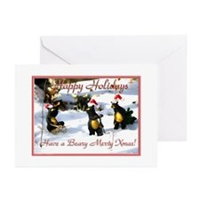 Winter bears. Greeting Cards (Pk of 20)
