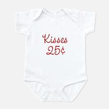 Kisses 25¢ Infant Bodysuit