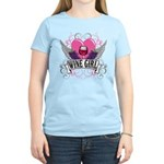 Wine Girl Heart Women's Light T-Shirt