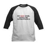Red hair Baseball Jersey