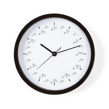 Complex (Polar) Wall Clock