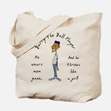 Barry the Ball Player Tote Bag
