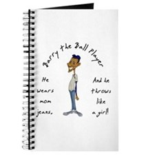 Barry the Ball Player Journal