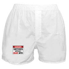 Stop snitchin' Boxer Shorts