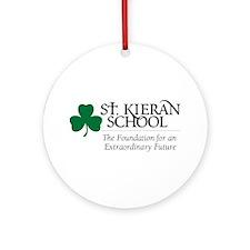 St. Kieran School Ornament (Round)