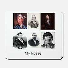 My posse Mousepad