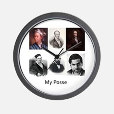 My posse Wall Clock