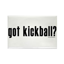 got kickball? Rectangle Magnet (10 pack)