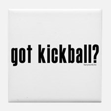 got kickball? Tile Coaster