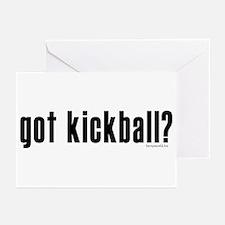 got kickball? Greeting Cards (Pk of 20)