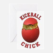Kickball Chick Greeting Cards (Pk of 20)