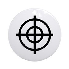 Black Sight Ornament (Round)