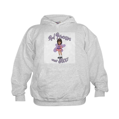 Reel Princesses Wear Sox! Kids Hoodie