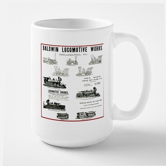 The Baldwin Locomotive Works Large Mug