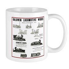 The Baldwin Locomotive Works Small Mug
