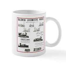 The Baldwin Locomotive Works Small Mug
