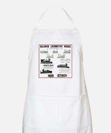 The Baldwin Locomotive Works BBQ Apron