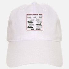 The Baldwin Locomotive Works Baseball Baseball Cap