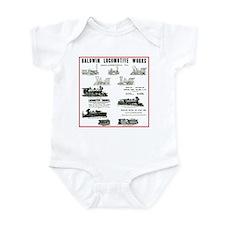The Baldwin Locomotive Works Infant Bodysuit