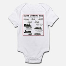 The Baldwin Locomotive Works Infant Bodysuit