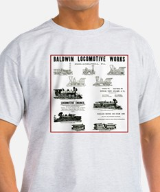 The Baldwin Locomotive Works T-Shirt