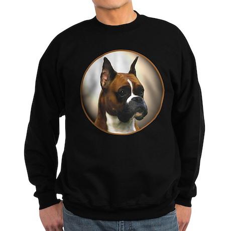 The Boxer Dog Sweatshirt (dark)