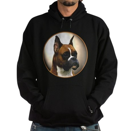 The Boxer Dog Hoodie (dark)