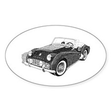 The Avenue Art Oval Decal