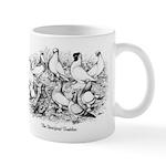 Shortface Tumbler Pigeons Mug