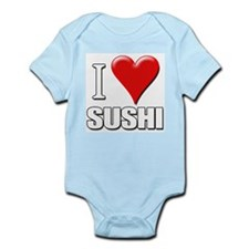 I Love (Heart) Sushi Infant Creeper